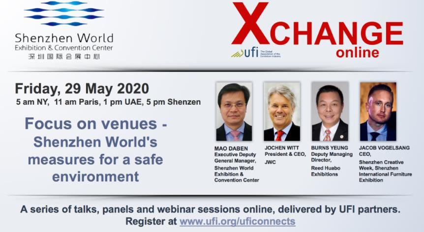 UFI全球线上直播会议举行,深圳国际会展中心6月展会重启!